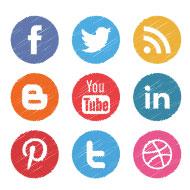 Diensten Social Media